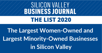 Largest minority-owned women-owned businesses in Silicon Valley